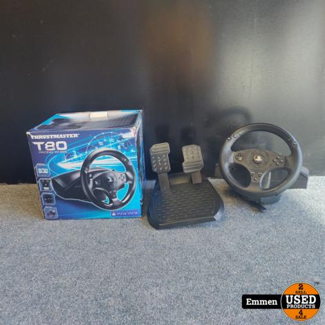 Thrustmaster T80 - Racing Wheel voor PS4 en PS3