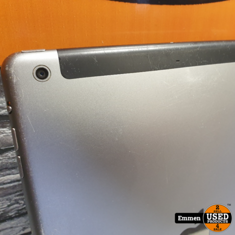Apple iPad Air - 32 GB WiFi + 4G - Zwart (krasjes)