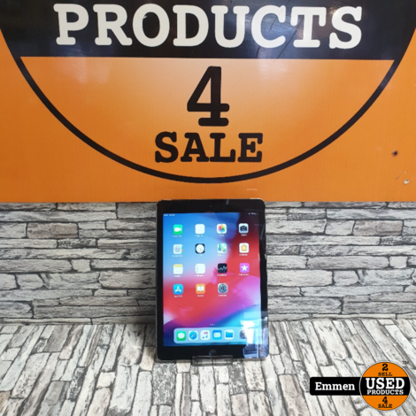 Apple iPad Air - 32 GB WiFi - Zwart