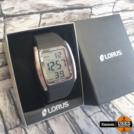 Lorus R2303HX9 - Z009-X007 - Digitaal Horloge 40 mm