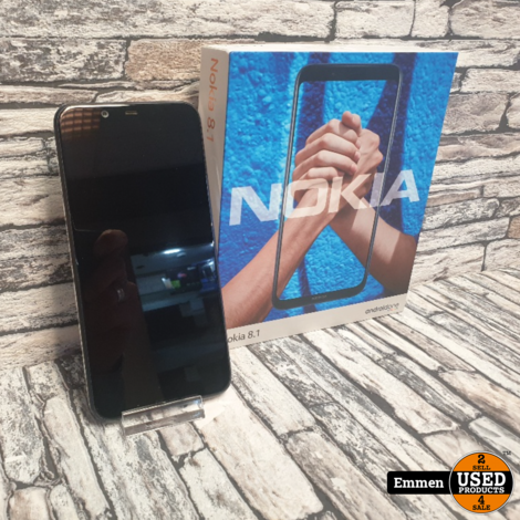 Nokia 8.1 - 64 GB Zwart - Dual Sim