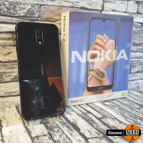 Nokia 4.2 - Dual Sim - Zwart (met Gratis Covercase)