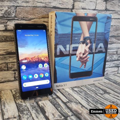 Nokia 3.1 - Dual Sim - Zwart