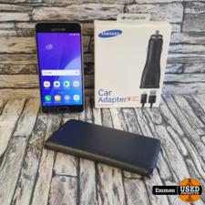 Samsung Galaxy A3 - 2016 Zwart (met Gratis Car Adapter t.w.v. €13,95)