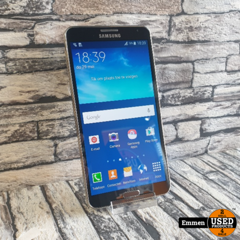 Samsung Galaxy Note 3 - Zwart