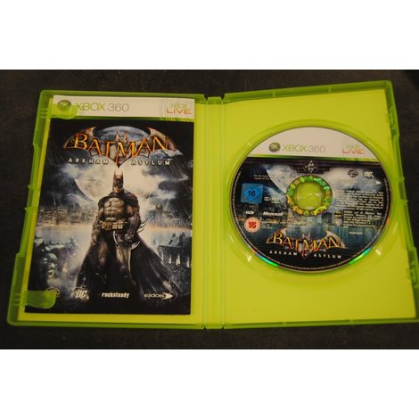 Xbox 360 game Batman Arkam Asylum