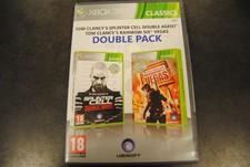Xbox 360 Game Tom Clancy Doublepack reinbox six vegas / double agent