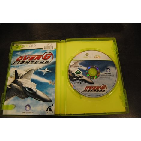 XBox 360 game Over G Fighters