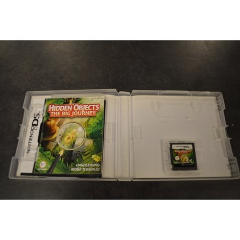 Nintendo DS Game Hidden Objects The Big Journey