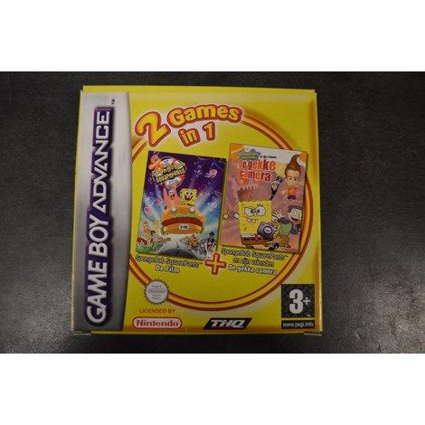 Gameboy advance game Spongebob de film en de gekke camera