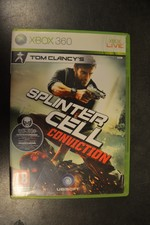 Xbox 360 game Splintercell conviction