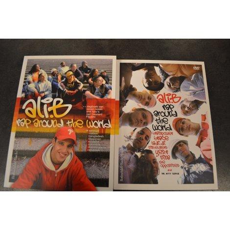 DVD Box Ali B. Rap Around The World DVD & Boek