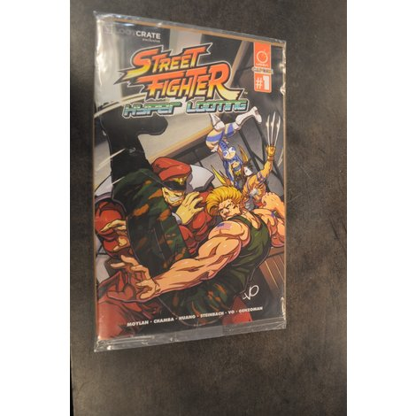 Street Fighter Hyper Looting Comic Book NIEUW in seal