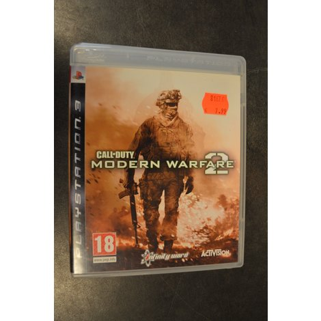 Ps3 game C.O.D.MW 2