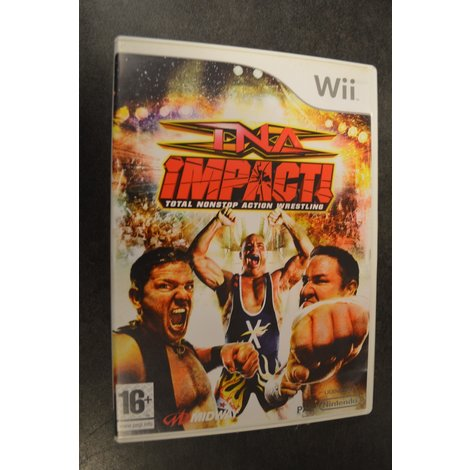Wii Game TNA Impact Total nonstop action Wrestling