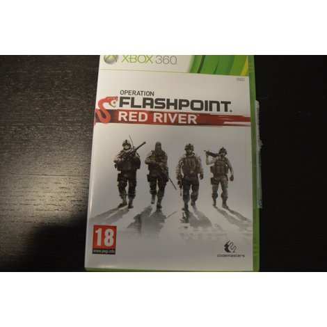 XBox 360 Game Flashpoint  Red River