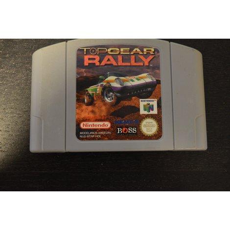 Nintendo 64 Game Top Gear Rally los spel