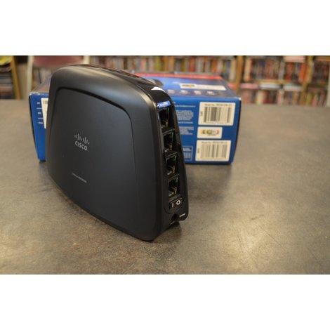 Cisco Linksys WES610N 4-port dual band in doos
