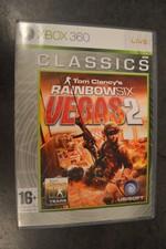 Xbox 360 Rainbow six vegas 2