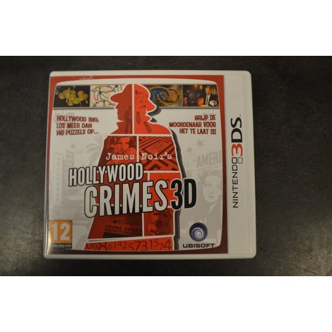 3ds game hollywood crimes 3d