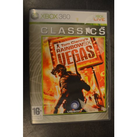 XBox 360 game Tom Clancy's Rainbow Six Vegas