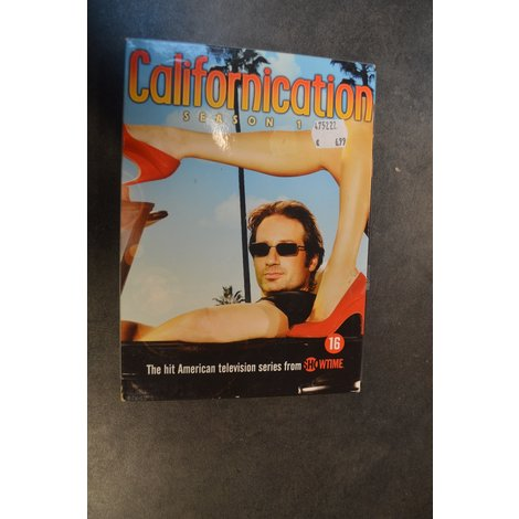 DVD box Californication seizoen 1