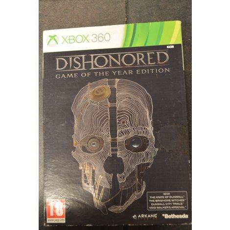 XBox 360 game Dishonored  GOTY