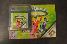 Gameboy Game Power Rangers Time Force
