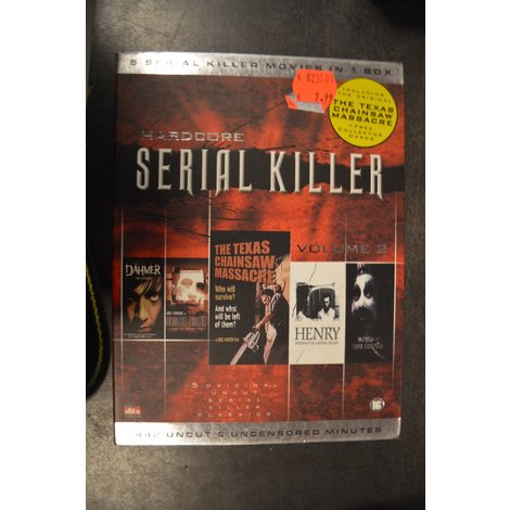 DVD Box Hardcore Serial Killer (5 films)