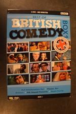 Dvd box Britisch comedy