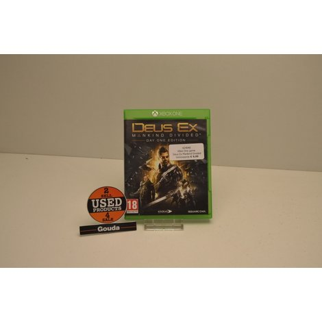 Xbox One game Deus Ex Mankind Divided day one edition