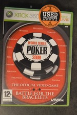 XBox 360 game Wordl Series of Poker 2008