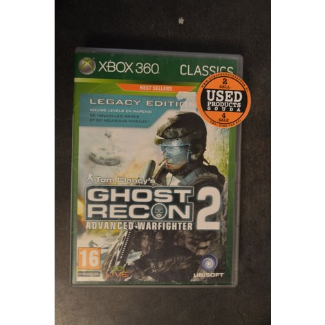 XBox 360 game Ghost Recon 2 Advanced Warfighter