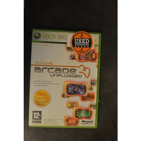 XBox 360 game Arcade Unplugged