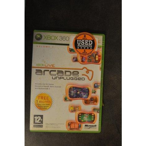 XBox 360 game Arcade Unplugged