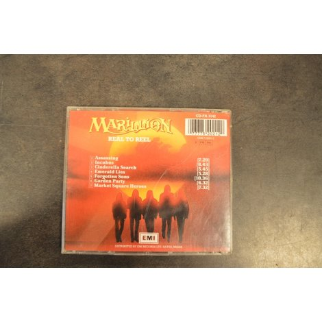 CD Marillion Real to Deal