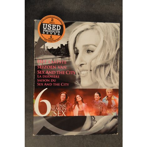 DVD Box Sex and the City 6 The final Season