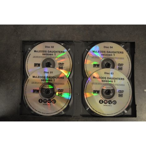 Dvd box Mc Leod's Daugters seizoen 1