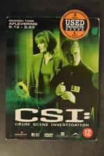 Dvd box C.S.I. seizoen 2 afl. 2-13 tot 2-23