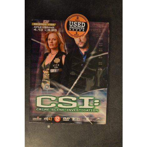 Dvd box C.S.I. seizoen 4 afl. 4-13 tot 4-23
