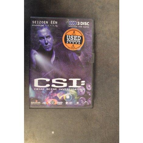 DVD Box C.S.I. Seizoen 1 afl. 1-1 tot 1-12