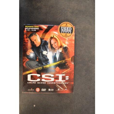 DVD Box C.S.I. Seizoen 3  afl. 3-13 tot 3-23
