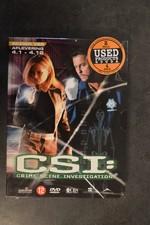 DVD Box C.S.I. Seizoen 4 afl. 4-1 tot 4-12