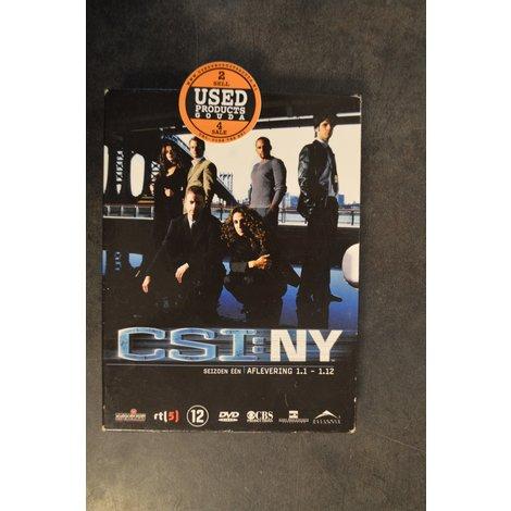 DVD Box C.S.I. NY Seizoen 1 afl. 1-1 tot 1-12