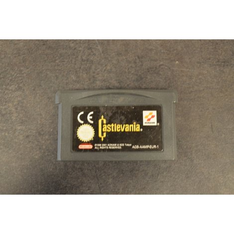gameboy advance game Castelvania