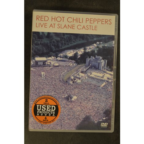 DVD Red Hot Chili Peppers  Live at Slane Castle