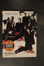 DVD Duran Duran Astronaut