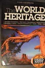DVD Box The World Heritage (10 dvd )