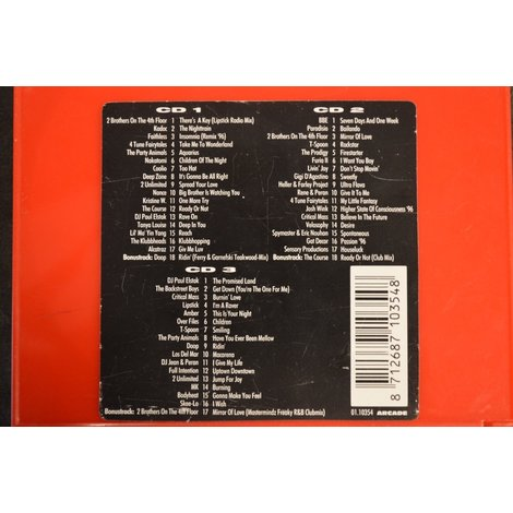 CD box Top 50 1996 Mega Dance