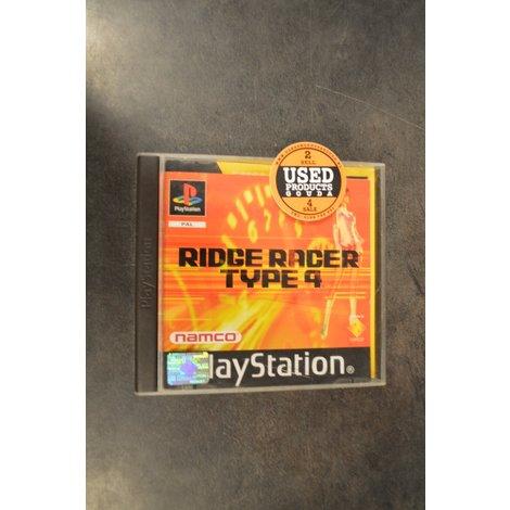 PS1 game Ridge Racer Type 4